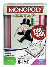 Hasbro Parker Travel Edition Monopoly Board Game Games to Go