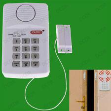 Wireless 110dB Burglar Security Keypad Door Alarm System With Panic Button