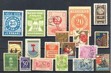 Denmark + Scandinavia - 19 x Poster Stamp/ Local /Revenue . F/Vf