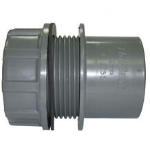 Solvent Grey 40mm (43mm) Tank Connector