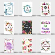 Single Or Pack Of 9 Eid Mubarak Mubrook Celebration Greeting Card Gift D6
