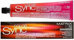 Matrix ColorSync Alkaline Toners Semi Permanent Hair Colour 90ml - Choose Shade