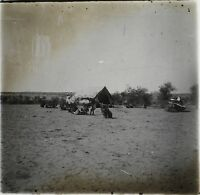 Niger L K Africa Nera Foto NB4 Placca Da Lente Stereo Vintage Ca 1910