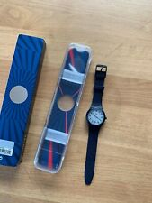 HODINKEE SWATCH Watch Sistem51 Blue Limited Edition SWISS