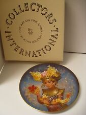 Royal Doulton Festival Children Of The World Mariani Bali Signed Plate 1983