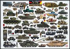 Citadel Jigsaw    British Army armoured fighting vehicles  jigsaw puzzle