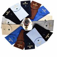 Pochette tessuto Floccato Custodia Monoposto  Porta Rolex Da Viaggio