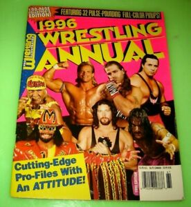 Pro Wrestling Illustrated 1996 Wrestling Annual collector's edition WCW WWF