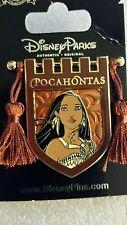 Princess Tapestry Pocohontas Banner Tassel Disney Pin