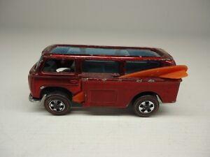 HOT WHEELS REDLINE VW BEACH BOMB RED