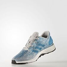 Men's Adidas PureBoost DPR Running Shoes Grey / Light Blue Petrol Sz 10 CG4097