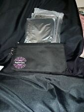 "Tupperware Consultant Award LogoLarge Money Carrying Bag 10""x6""x1""-Black"