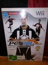 Pro Evolution Soccer 2008 PES - Wii - No Manual