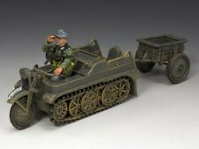 king & country WH023 Kettenkrad and trailer