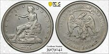1877-S Silver Trade Dollar PCGS VF Details Cleaned