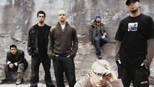 Linkin Park Mike Shinoda Brad Delson Dave Far Silk Poster Wallpaper 24 X 13 inch