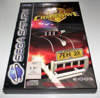 Crimewave Sega Saturn PAL *Complete*