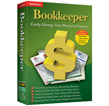 Avanquest Bookkeeper 15 create invoice  check analyze data accounting banking