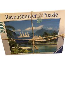 Ravensburger Tahiti Südsee 2000 Pieces Ocean Scene Sailboat