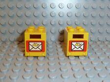LEGO® 2 x Town Classic Briefkasten 4345apx1 9360 6362 1065 4554 6372 6622 K49