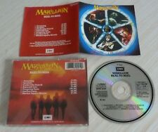CD ALBUM REAL TO REEL MARILLION 7 TITRES 1984 MADE IN W GERMANY