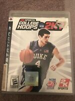 College Hoops 2K7 (Sony PlayStation 3, 2007) - No Manual