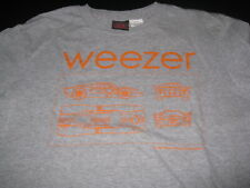 Weezer Racecar Long Sleeve T-Shirt Youth 12/14 Preowned