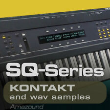 ENSONIQ ESQ1 SAMPLES for KONTAKT 215NKI 2320 WAV 24bIt MAC PC MPC LOGIC TRAP RAP