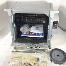 See Video NEW Ronco Showtime ST5000PLGEN Digital Rotisserie BBQ Oven & Accessori