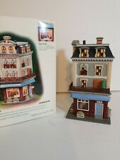 Dept 56 Christmas in the city Chez Monet in box
