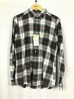 Barbour Men's Highland Check 20 Tailored Shirt - Brown - Size M - RRP £70