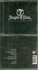 RARE / CD - STAGES OF PAIN : BLACK HEART BLUES / HARD ROCK / COMME NEUF LIKE NEW