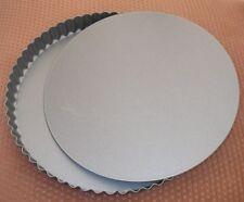 9.5'' Loose Base non Stick  Flan Ring Tart Tartlett Quish Pie Dish Cake Tin
