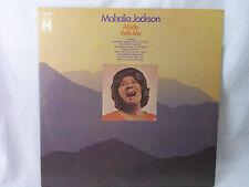 "MAHALIA JACKSON ""ABIDE WITH ME"" VINYL RECORD 33 RPM LP"