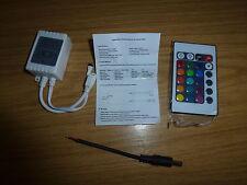 24 KEY IR REMOTE CONTROLLER PER RGB SMD 5050 LED Striscia