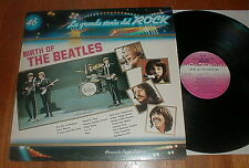 "BEATLES Vintage ""Birth Of The Beatles"" LP w INSERT Italy UNPLAYED"