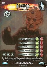 DR WHO ULTIMATE MONSTERS RARE 716 DAVROS(ENERGY ATTACK)