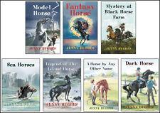 Set of 7 Jenny Hughes horse novels - books - for kids teens YA
