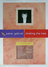 GENESIS PETER GABRIEL 90 SHAKING THE TREE PROMO POSTER ORIGINAL