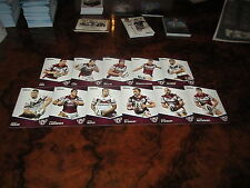 2014 NRL TRADERS MANLY SEA EAGLES COMMON TEAM SET 11 CARDS LYON KING STEWART