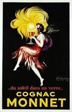 COGNAC MONNET - CAPPIELLO ART POSTER 24x36 - VINTAGE 36054