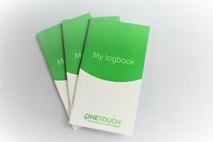 OneTouch Log book By Lifescan - [3 Pack]
