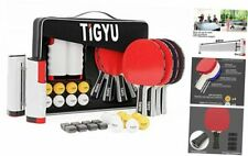 New listing Ping Pong Paddles Set of 4 - Table Tennis Paddles - Ping Pong Net for Any