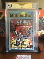 Malibu Sun 13, First Spawn, Signed, CGC 9.8 & There's More !! Grail Alert 🚨🚨🚨