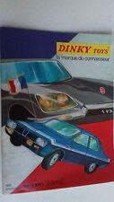 CATALOGUE DINKY TOYS 1971 PARFAiT ETAT. PAS DE PLIURES, DECHIRURES, ECRITURES