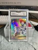 2019-20 Chronicles Coby White Essentials Silver Holo Rookie GMA 10 ~ PSA 10