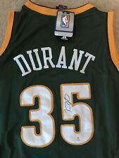 Kevin Durant Signed Seattle Supersonics Jersey