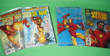 LOTE DE COMICS IRON MAN 5 numeros buen estado