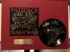 Autographed Lp And Record Sleeve. Axel, Slash, Duff And Izzy. Prestine Condition