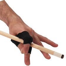 UnGlove™ Finger Wrap Black Pool Billiards Unisex Gloves Un-Glove